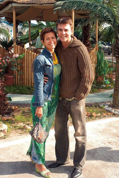Роман Климовой и Петренко начался на площадке сериала «Лучший город Земли» в 2003 году