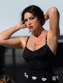 Итальянская актриса и фотомодель Моника Беллуччи