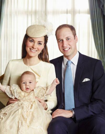 Крещение принца состоялось 23 октября 2013 года