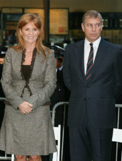 Сара Фергюсон и принц Эндрю. 2006 год
