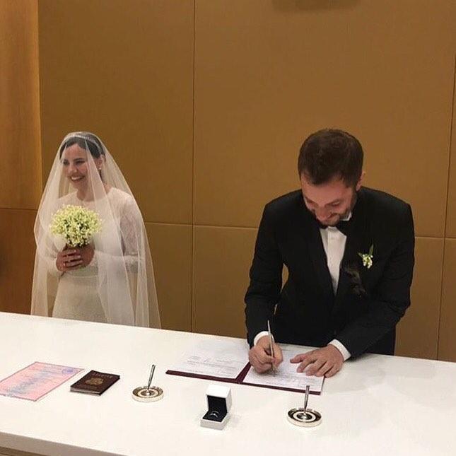 Александр Цыпкин и Оксана Лаврентьева теперь муж и жена