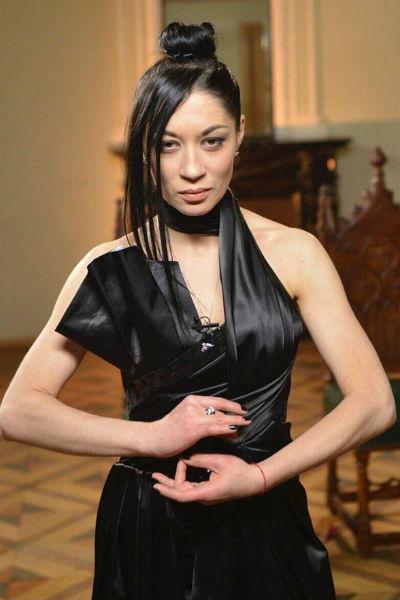 Дария Воскобоева во время финала