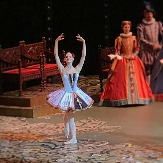 Элеонора Севенард на сцене Большого театра
