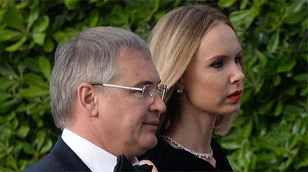 Илона Столье с мужем Виталием Южиным