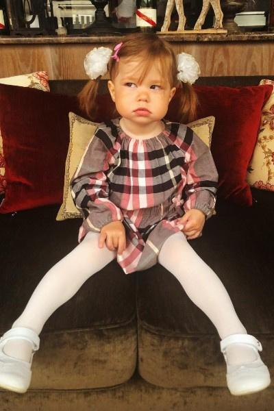Младшая дочь Екатерины Климовой Белла