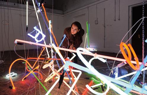 Абстракции Ансельма Рейле забавляют многих любителей современного искусства