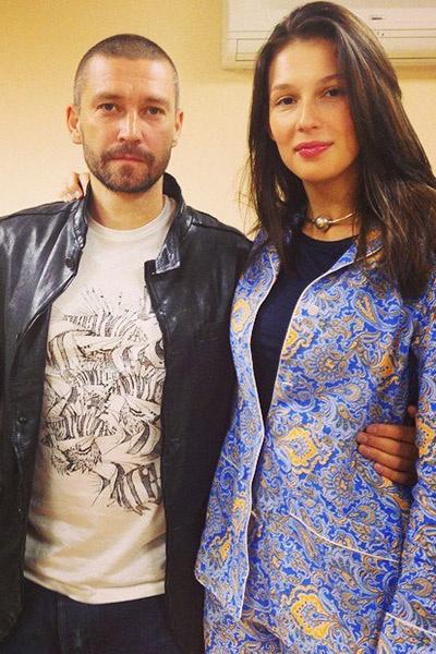 Владимир Кристовский и Ольга Пилевская