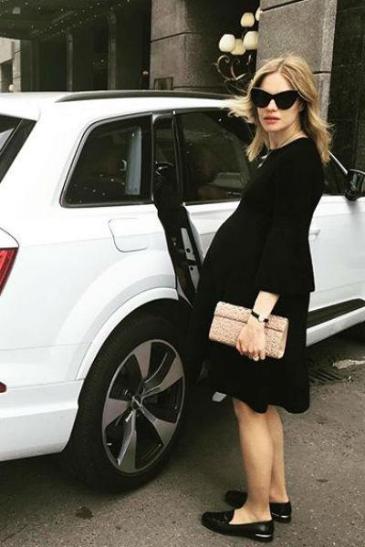 Наталья Водянова вела активный образ жизни во время беременности