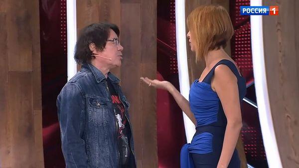 Наталья Штурм устроила скандал Евгению Осину