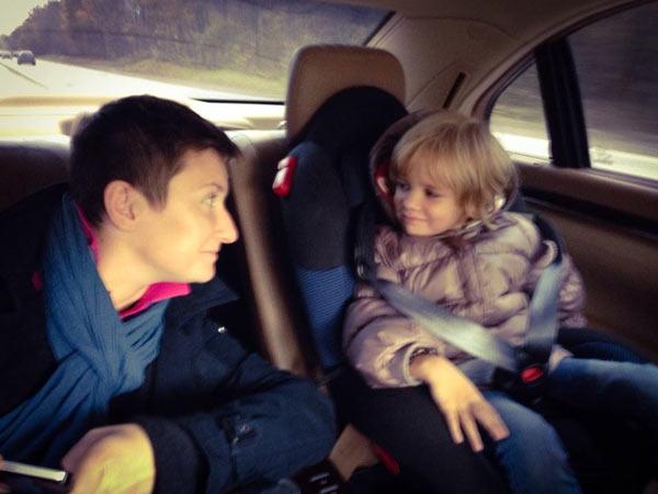 Диана с дочерью Мартой
