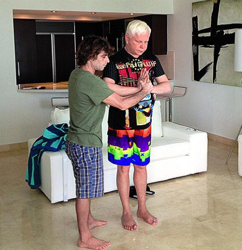 Борис Моисеев с тренером