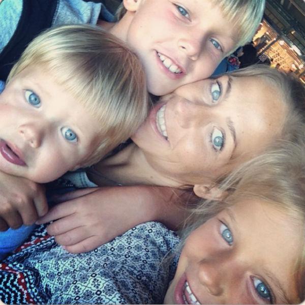 В ближайшее время дети Юлии окончательно переедут в Москву