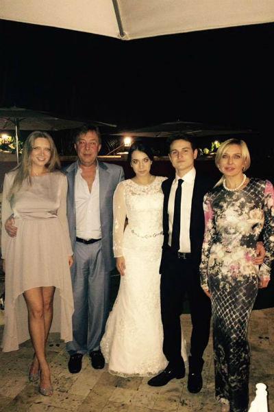 На свадьбе Игоря Татьяна встретилась с бывшим мужем Владимиром