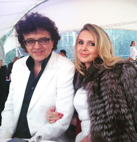 Роман Жуков и его жена Елена