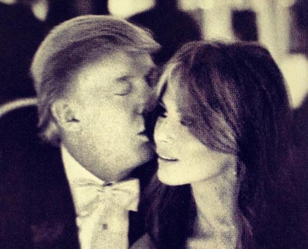 Дональд Трамп влюбился в Меланию с первого взгляда