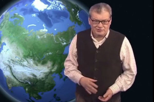 Александр Беляев много лет ведет прогноз погоды