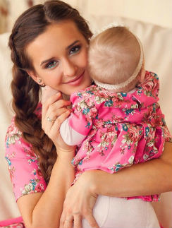 Маргарита Агибалова с дочерью