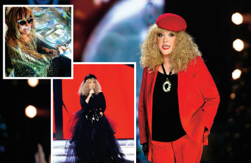 Журнал «Телесемь»:  гардероб Аллы Пугачевой и комментарии ее стилиста