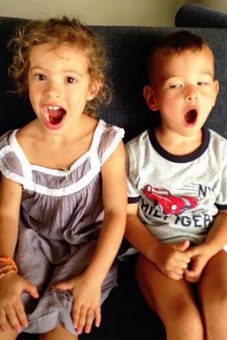 Дети артиста: дочка Ника и сын Энджел