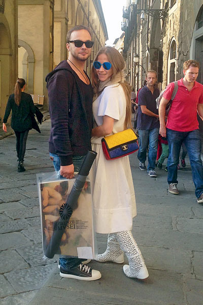 Сейчас Андрей Чадов и Юлия Барановская уже не так много общаются
