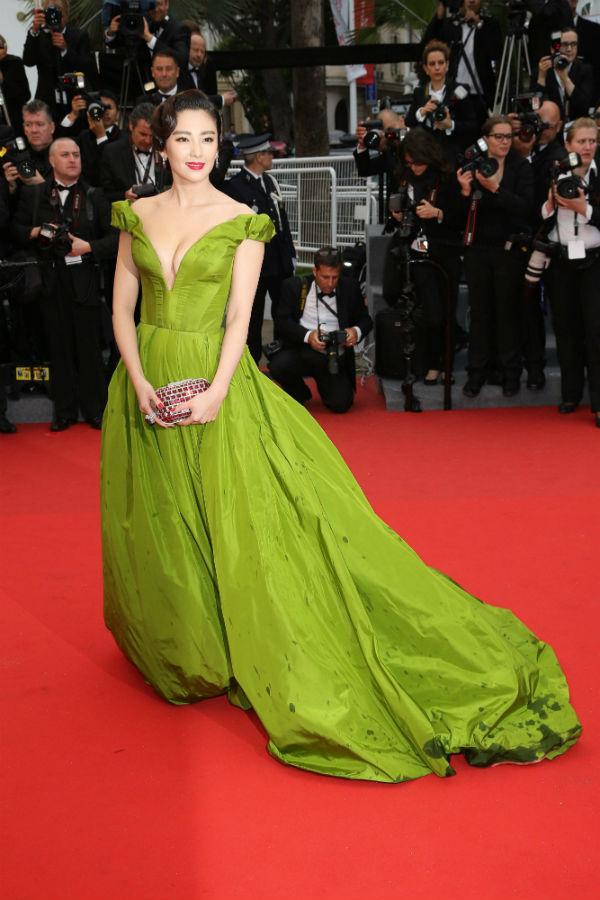 Актриса Чжан Юки остановила выбор на платье Ульяны Сергеенко