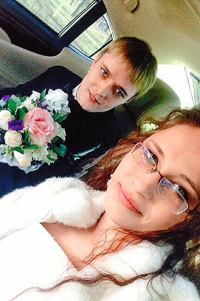 Первый брак Сережи закончился разводом