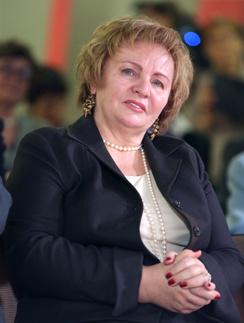 Людмила Путина впервые вышла в свет после развода