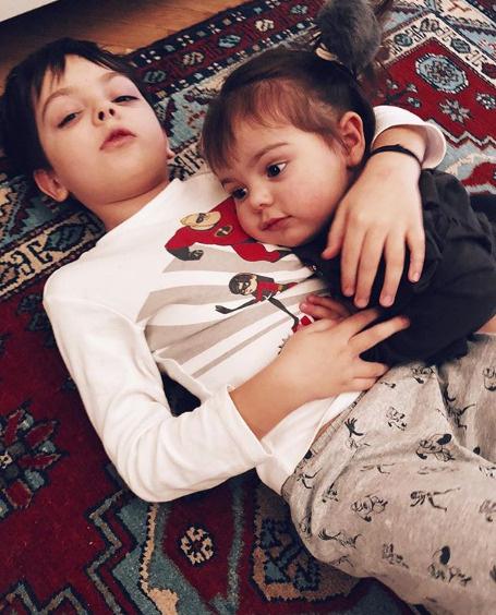 Дети Анастасии Стоцкой