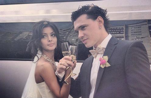 Александр Кабанов и Роза Коноян стали мужем и женой
