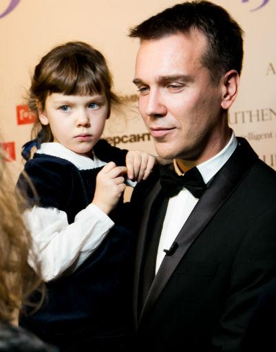 Михаил Зыгарь вместе с дочкой