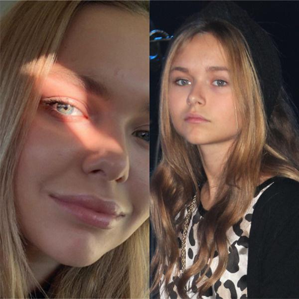 Слева – Стефания в конце февраля 2019-го, справа – в октябре 2013-го