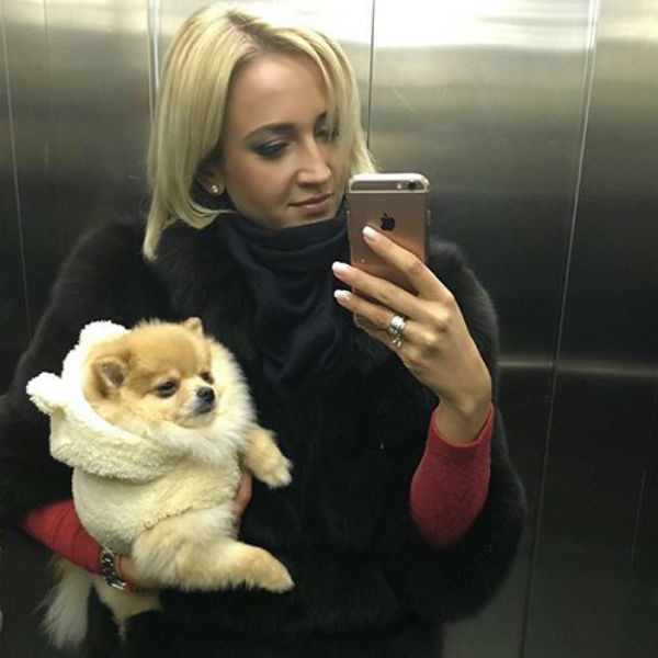 Ольга утеплила любимую собачку