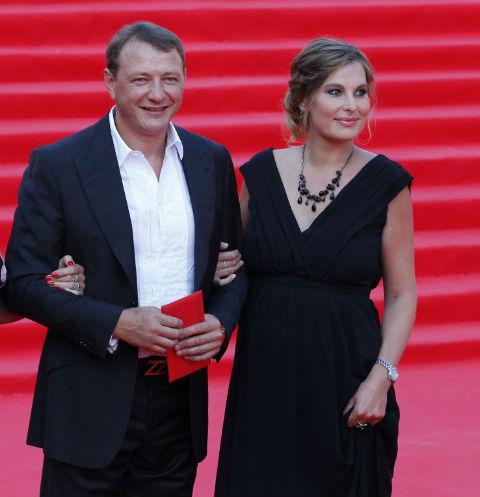 Марат Башаров и Елизавета Шевыркова на закрытии ММКФ