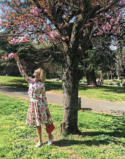 Весна в Риме оставила у Ольги неизгладимое впечатление