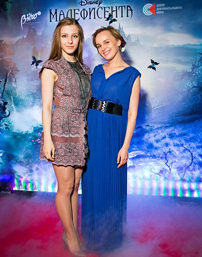 Лиза Арзамасова и Наталья Быстрова