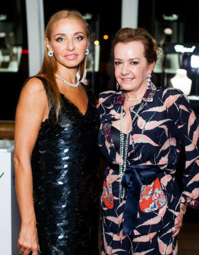 Татьяна Навка и Каролина Шойфеле
