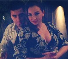 Анфиса Чехова отметила день рождения с мужем