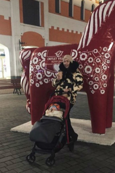 Сын Степуниной появился на свет в ноябре 2016 года