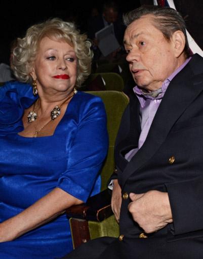 Актер Николай Караченцов с супругой Людмилой Поргиной