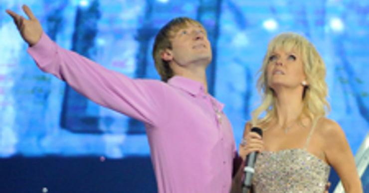 Евгений Плющенко откатал свой день рождения