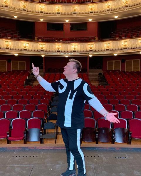 Сергей мечтает о своем музыкальном театре