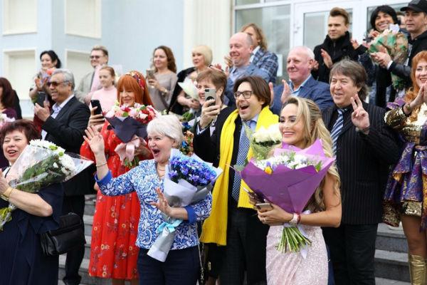 Среди гостей на свадьбе были Андрей Малахов и Анна Калашникова