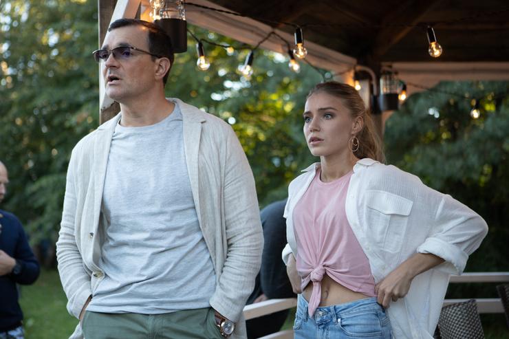 Арина и Егор Бероев