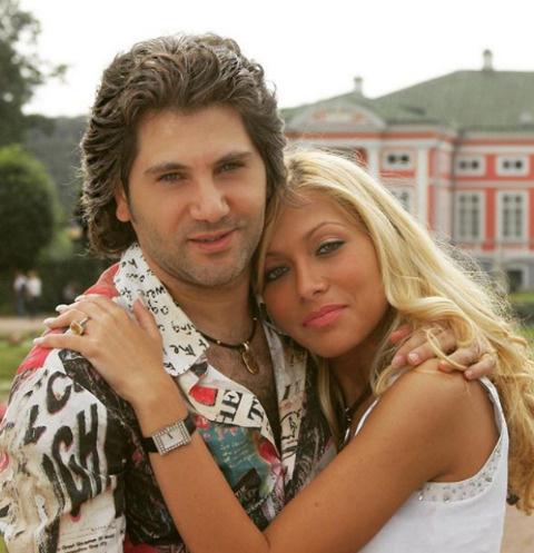 Авраам Руссо с супругой Морелой
