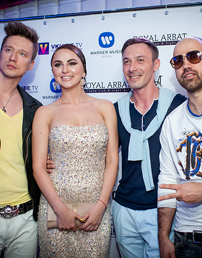 Группа Artik&Asti и певец Дмитрий Нестеров