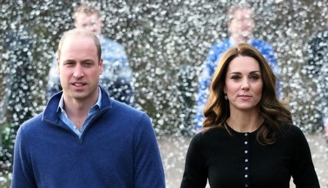 Кортеж Кейт Миддлтон и принца Уильяма сбил человека