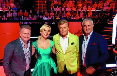 Вовремя съемок шоу «Голос 60+» произошел «неприятный случай»