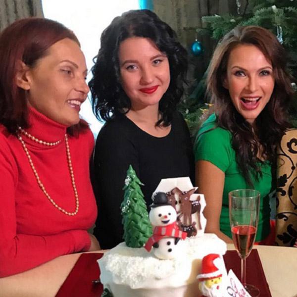 Диана с дочкой гостили в канун Нового года в доме Эвелины