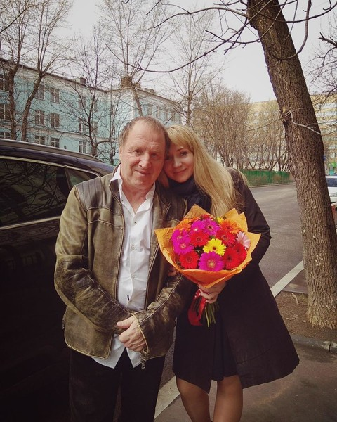 Владимир Стеклов и его жена Ирина