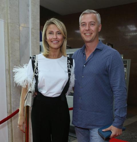 Екатерина Архарова с супругом Артемом Илясовым